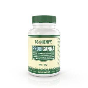 PROBICANNA – Hemp Flower with Microbial Cultures, 60 capsules; dietary supplement