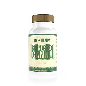 StressoCanna – Hemp Flower with Added B Vitamins, 60 capsules; dietary supplement