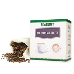 Espresso Coffee with CBD Hemp Flower