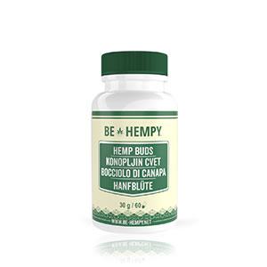 CBD Hemp Buds, 60 capsules; dietary supplement